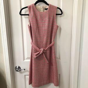 J. Crew Tie-Waist dress in Italian Tweed